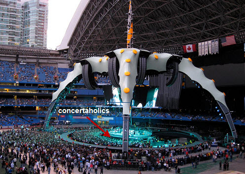 U2 Rogers Centre Toronto September 17 2009 Concert