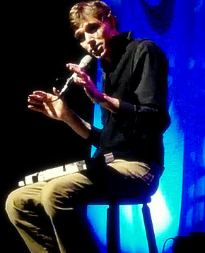 Joel Plaskett at Brock University 2009